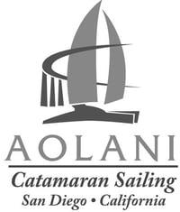 Aolani Catamaran logo BW