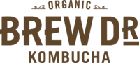 Brew Dr. Kombucha Logo - Color Brown