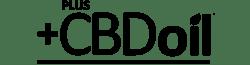 Plus CBD Oil Logo - black