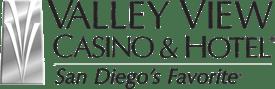 Valley View Casino Logo - Black